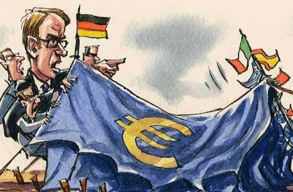 Perché siamo sempre più poveri. Il cancro della deflazione indotta dall'Euro. (La situazione spiegata facile). Parte 2/4