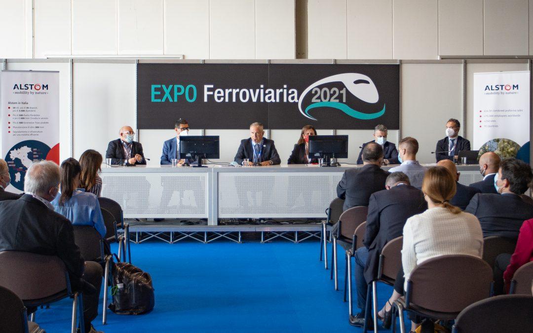 """""""La rivoluzione ecologica nel trasporto ferroviario"""" – Expo Ferroviaria 2021"""